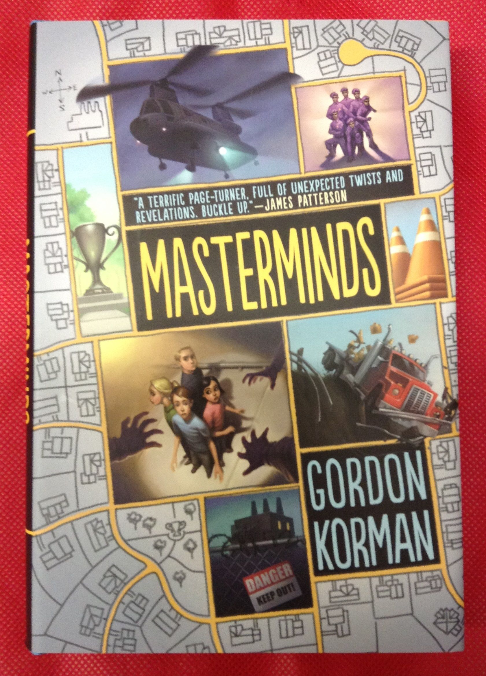 Masterminds, Gordon Korman  Eli lives in the most perfect