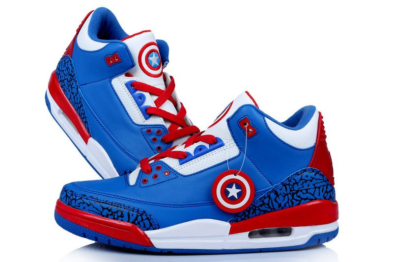 "sports shoes 61123 496ab Air Jordan 3 ""Captain America"""