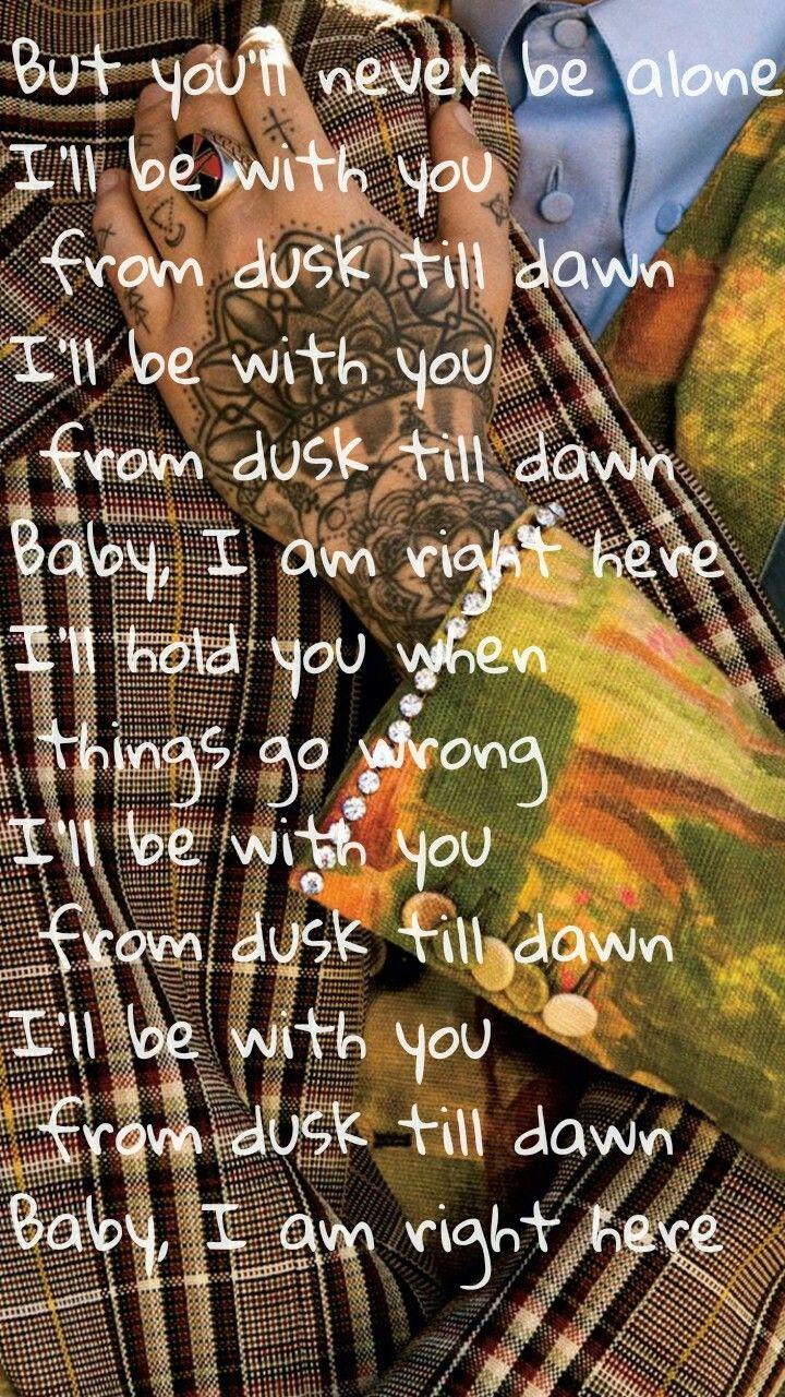 Dusk Till Dawn Zayn Sia Song Quotes Music Quotes Zayn Lyrics