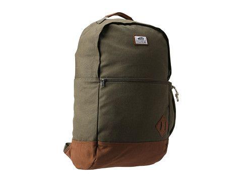 54a6e49c0e Vans Van Doren II Backpack Ivy Green