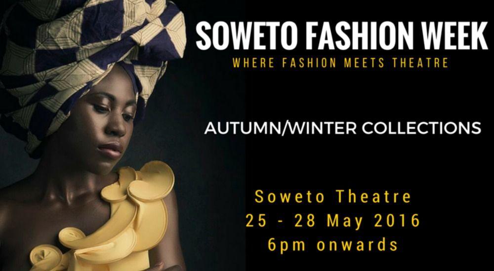La Soweto Fashion Week, en Afrique du Sud, a commencé aujourd'hui au théâtre de Soweto. Et prendra fin dimanche 28 mai. Petit tour d'horizon.