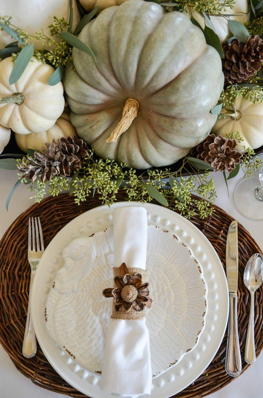 Unique Thanksgiving Table Decor Ideas