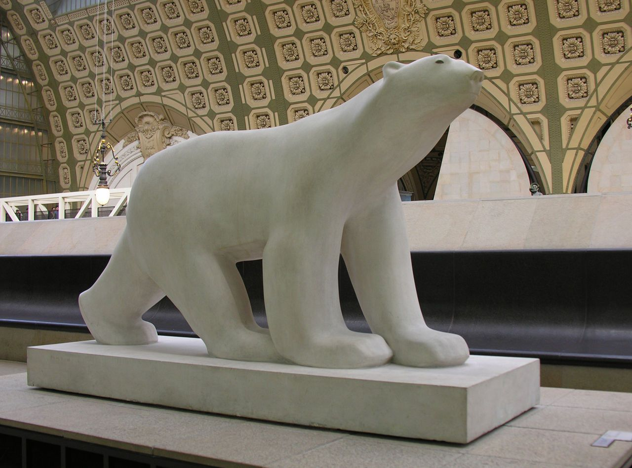 Ijsbeer, François Pompon (Frankrijk) Saulieu, 1855 – Parijs, 1933