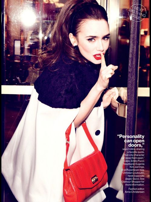 The Adore Fashion - Lilly Collins