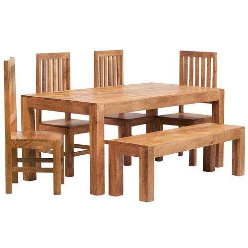 34+ Richmond 3 piece timber bench dining setting Trending