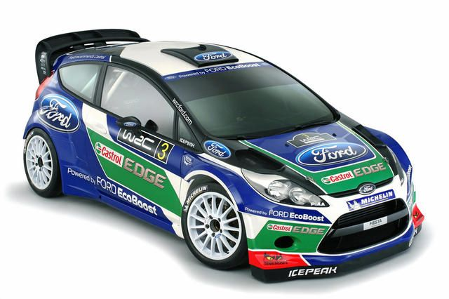 Ford fiesta rally car for WRC 2012 season I wish the ones ford