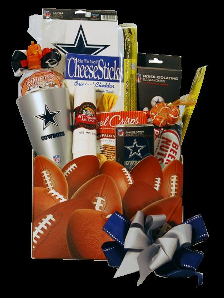 Dallas Cowboys Gift Basket $72.95 | Gifts For Men | Pinterest ...