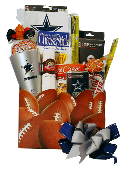 Dallas Cowboys Gift Basket. Do you know the ultimate Dallas Cowboys Fan?. Well we have the ultimate Dallas Cowboys gift for Father's Day, birthday, ...