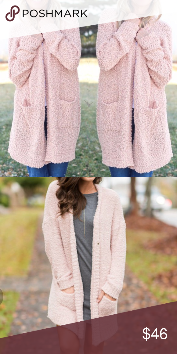 e8c8b456c239 Long sleeve popcorn chunky knit open cardigan. Drop shoulder with long  sleeves. Featuring two front pockets. Fabutiq Sweaters Cardigans