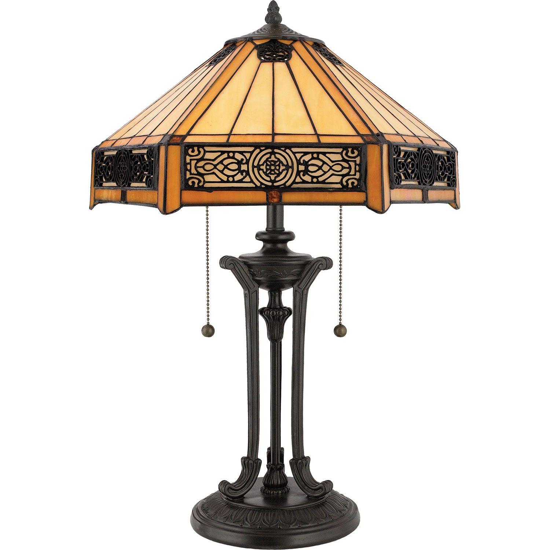 Quoizel Indus Table Lamp Tf6669vb Bellacor Bronze Table Lamp Tiffany Table Lamps Vintage Table Lamp