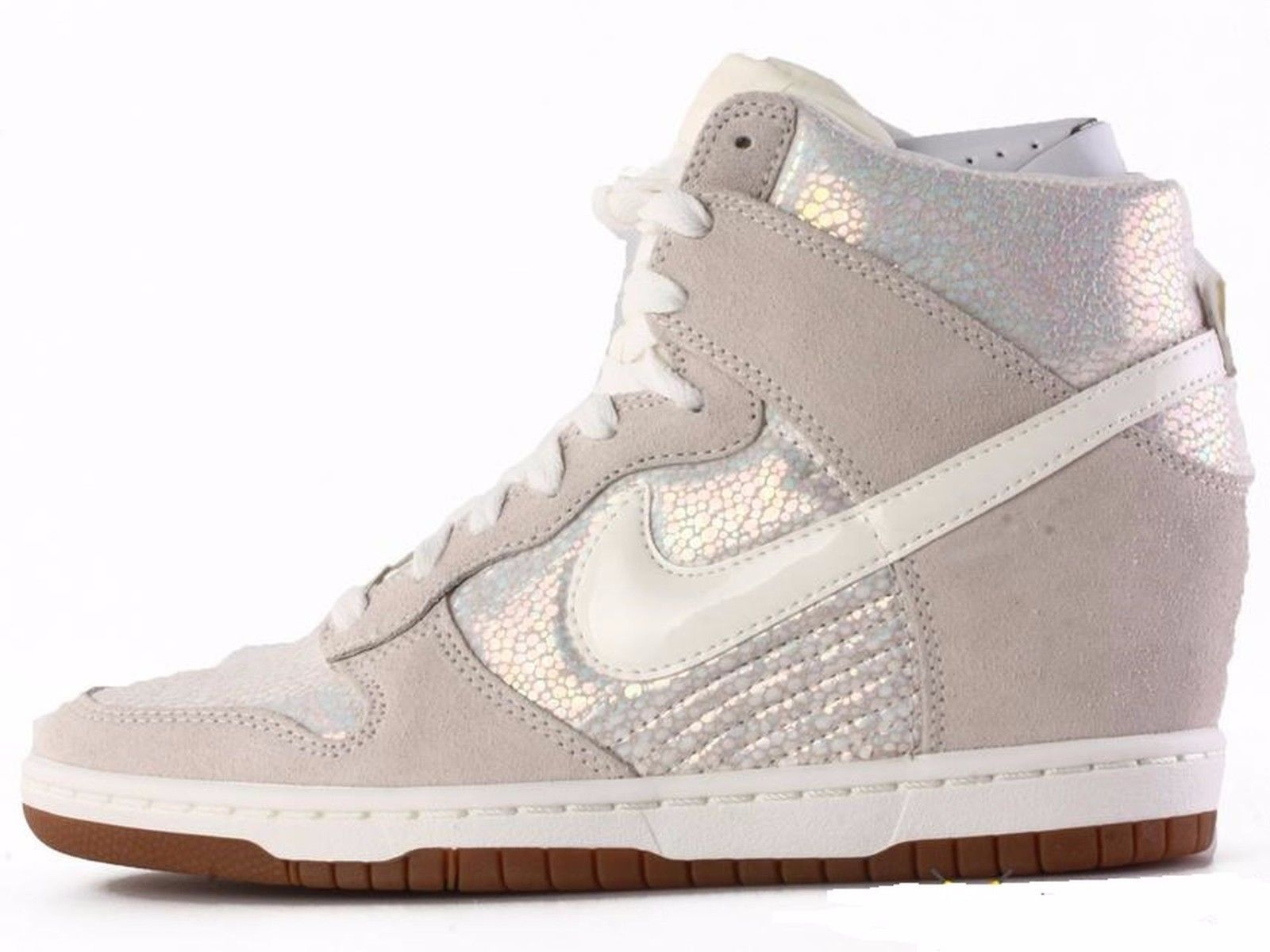 new styles 647c3 9fac5 Nike Dunk Sky Hi Premium Wmn Sz 7.5 585560-003 MTLC LUSTER SAIL-SL-GM MD  BRWN. Find this Pin and more on Women s Shoes ...
