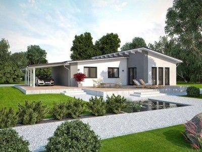 Bau Mein Haus hausansicht 110 l pultdach yeni dekorasyon haus