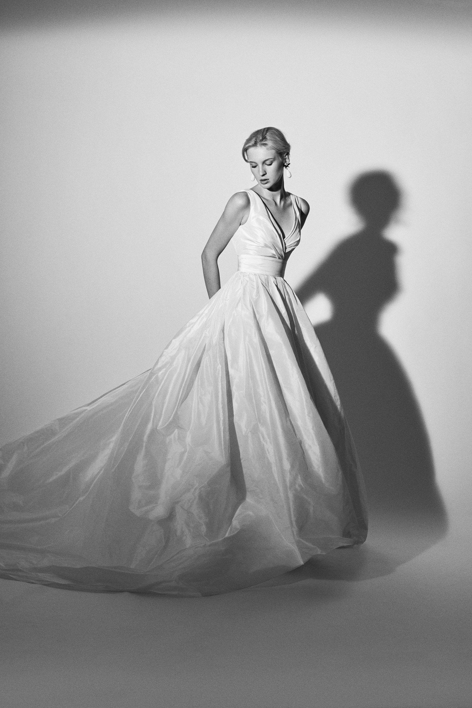 Carolina herrera bridal spring collection seattle met bride