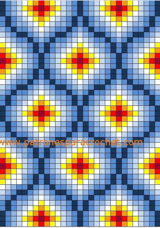 16 Patrones de Diseños Wayuu para Mochilas Crochet / Gratis ...