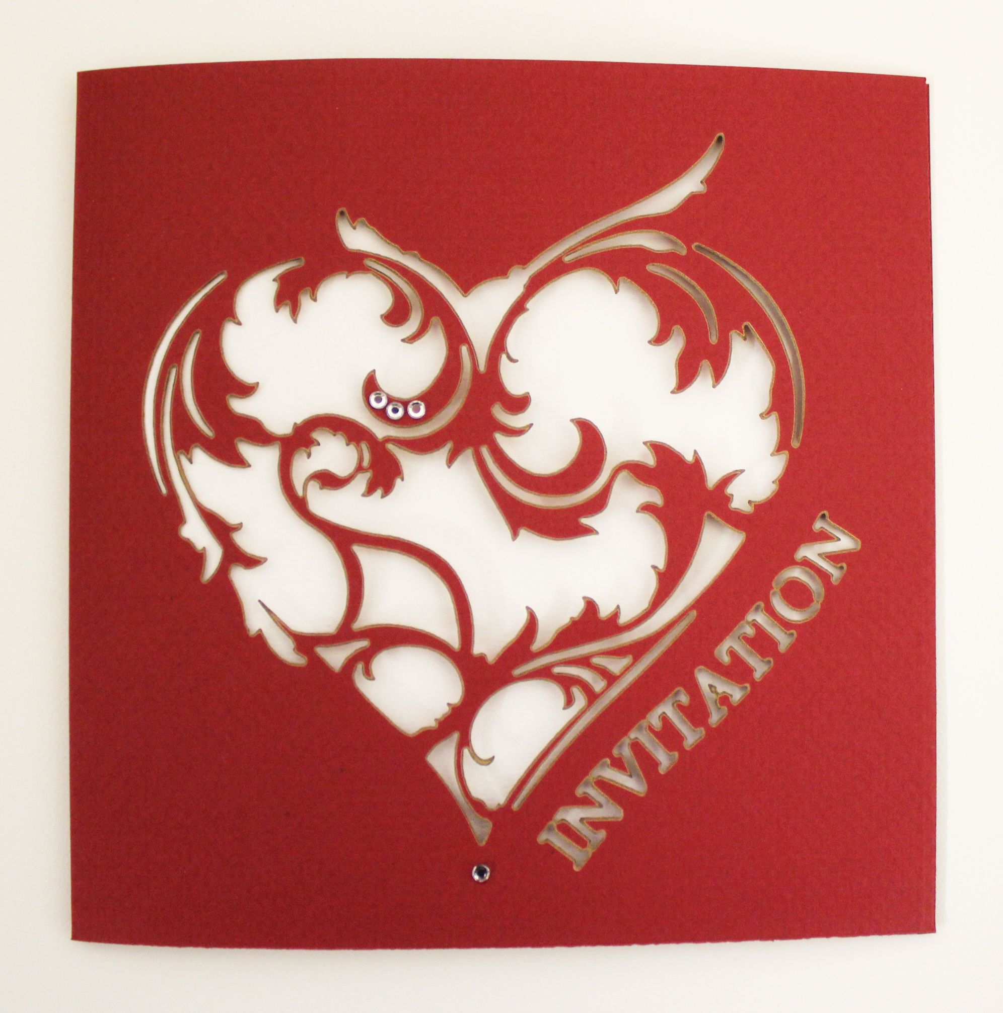 www.intricatecreations.co.uk - Royal Affection Laser-Cut Wedding ...