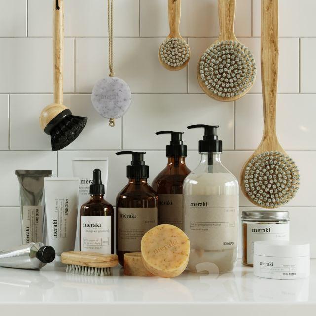 Cosmetics Set Meraki Interior Design Furniture Bathroom