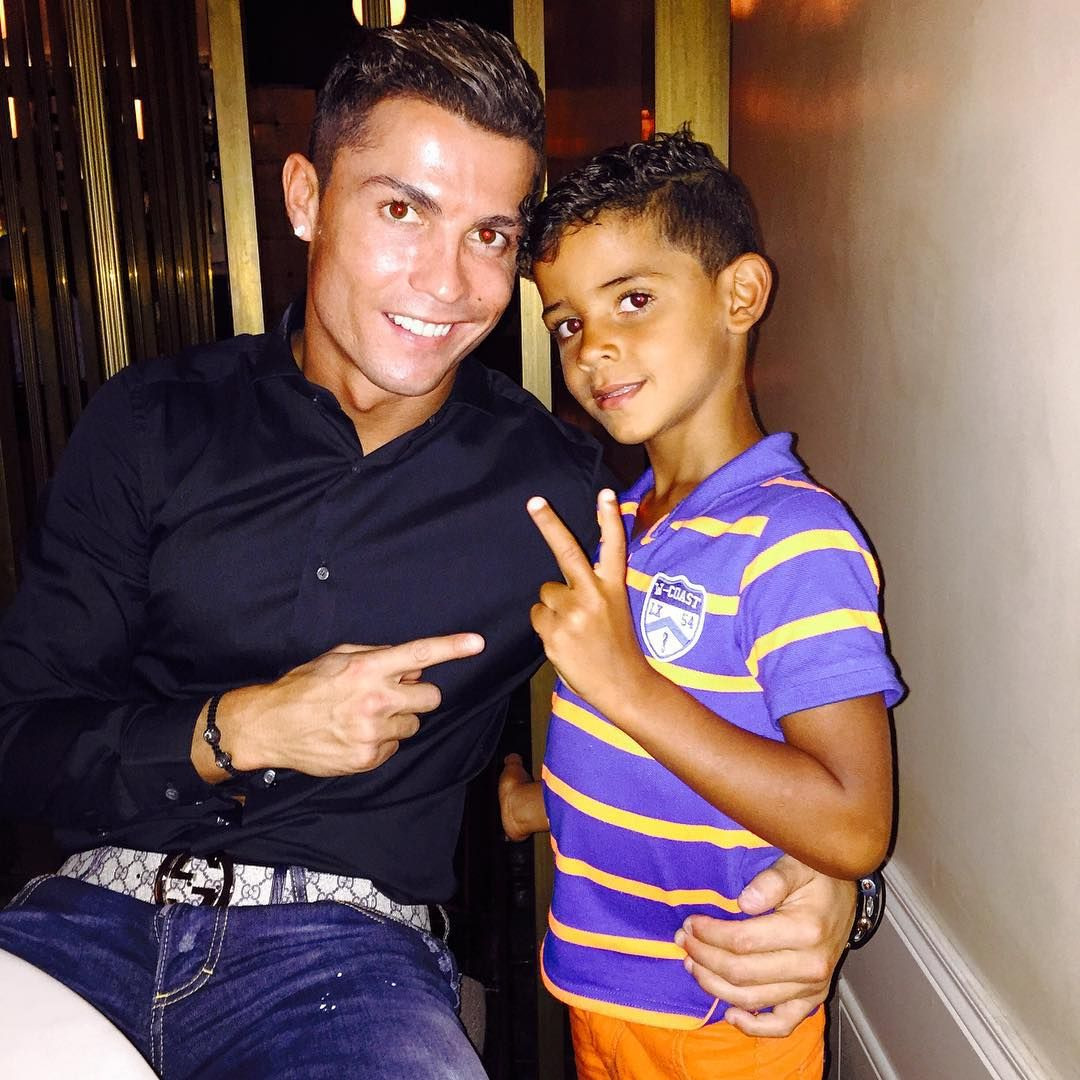 Cristiano Ronaldo dos Santos Aveiro GOIH, ComM is a Portuguese professional  footballer who plays as a… | Cristiano ronaldo, Ronaldo junior, Cristiano  ronaldo junior