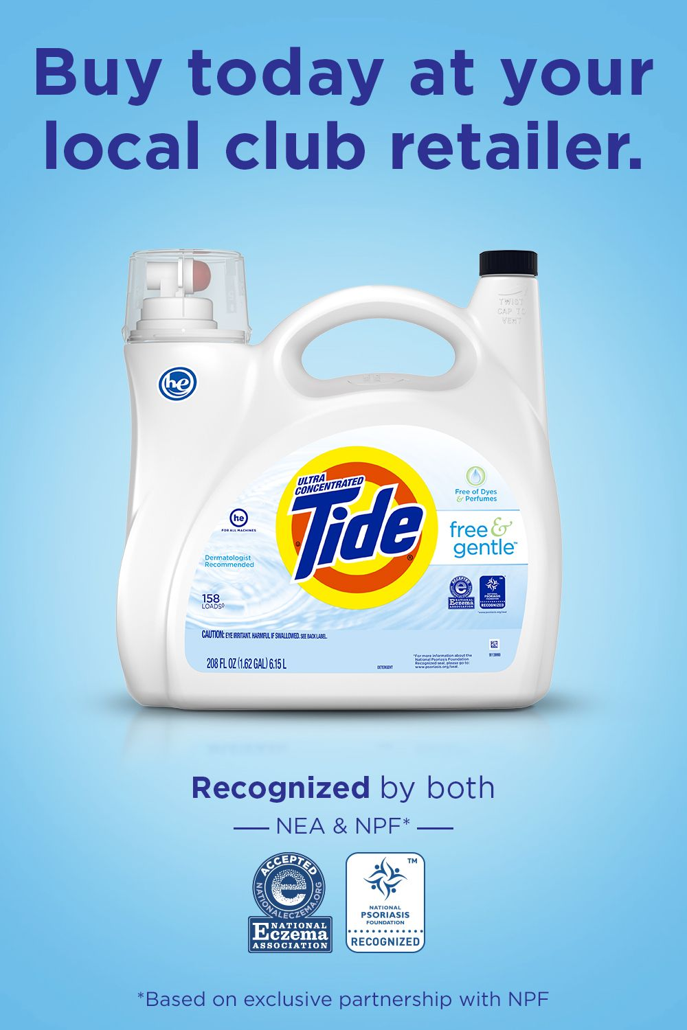 Tide Free And Gentle Liquid Laundry Detergent In 2020 Tide Free