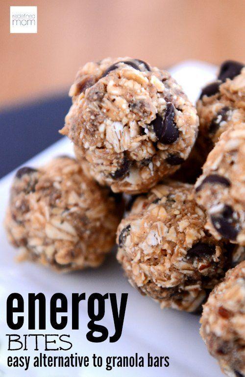 Kid Approved No Bake Energy Bites Recipe Granola Bars