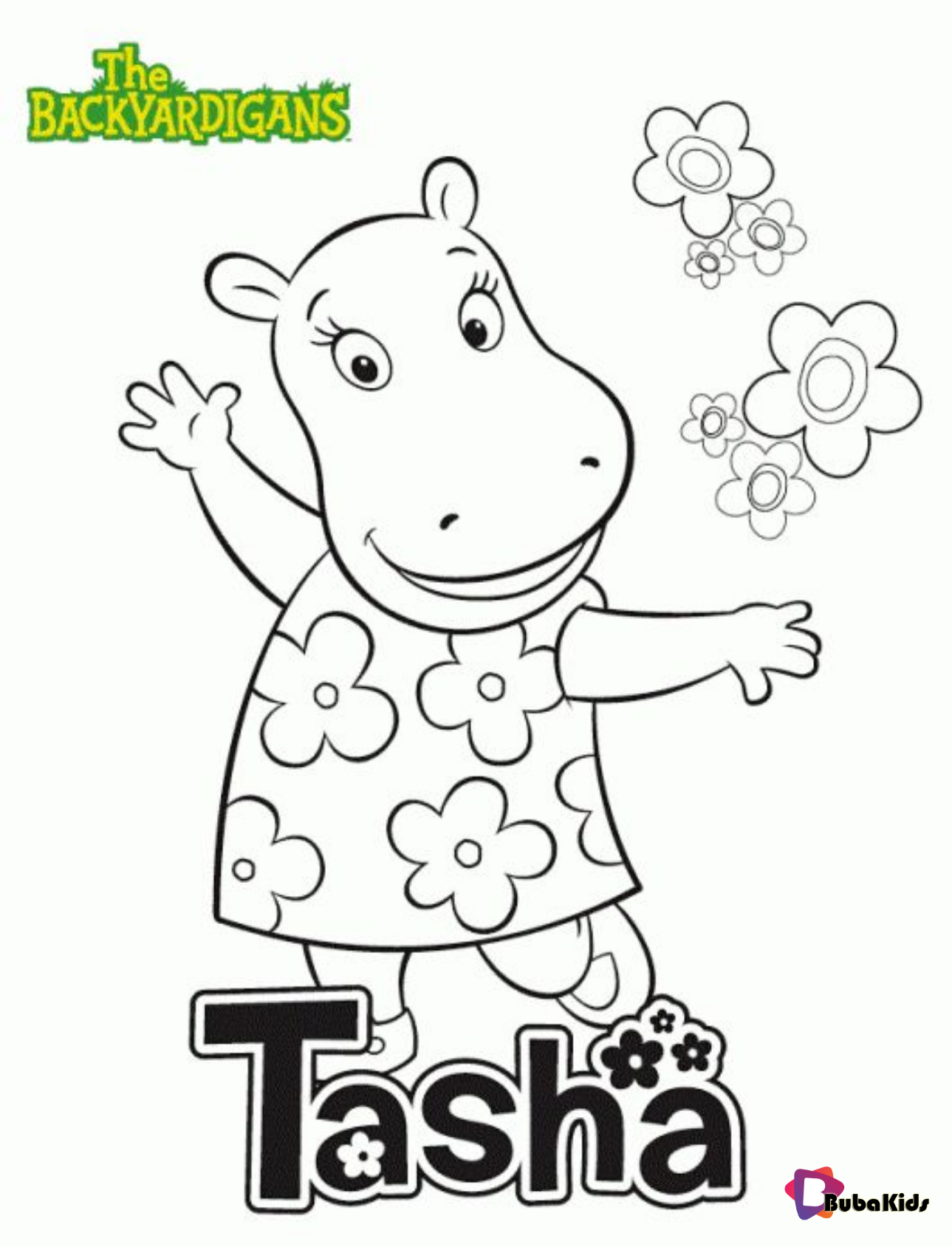 Backyardigans Coloring Pages - GetColoringPages.com | 1688x1289
