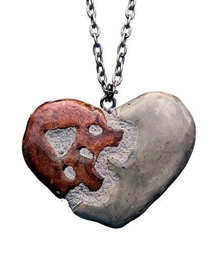 Steampunk Heart - Interchangeable Jewelry - Gear Heart Pendant Necklace