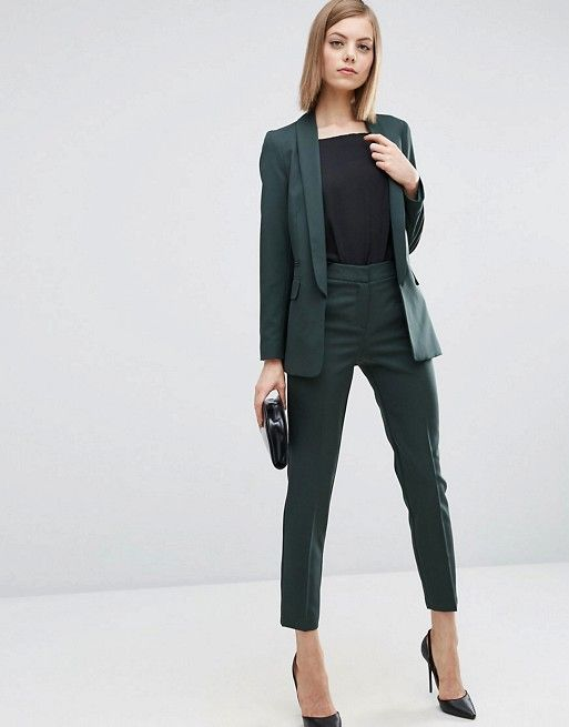 Asos Premium Tailored Suit In Forest Green Kt S Style Suits