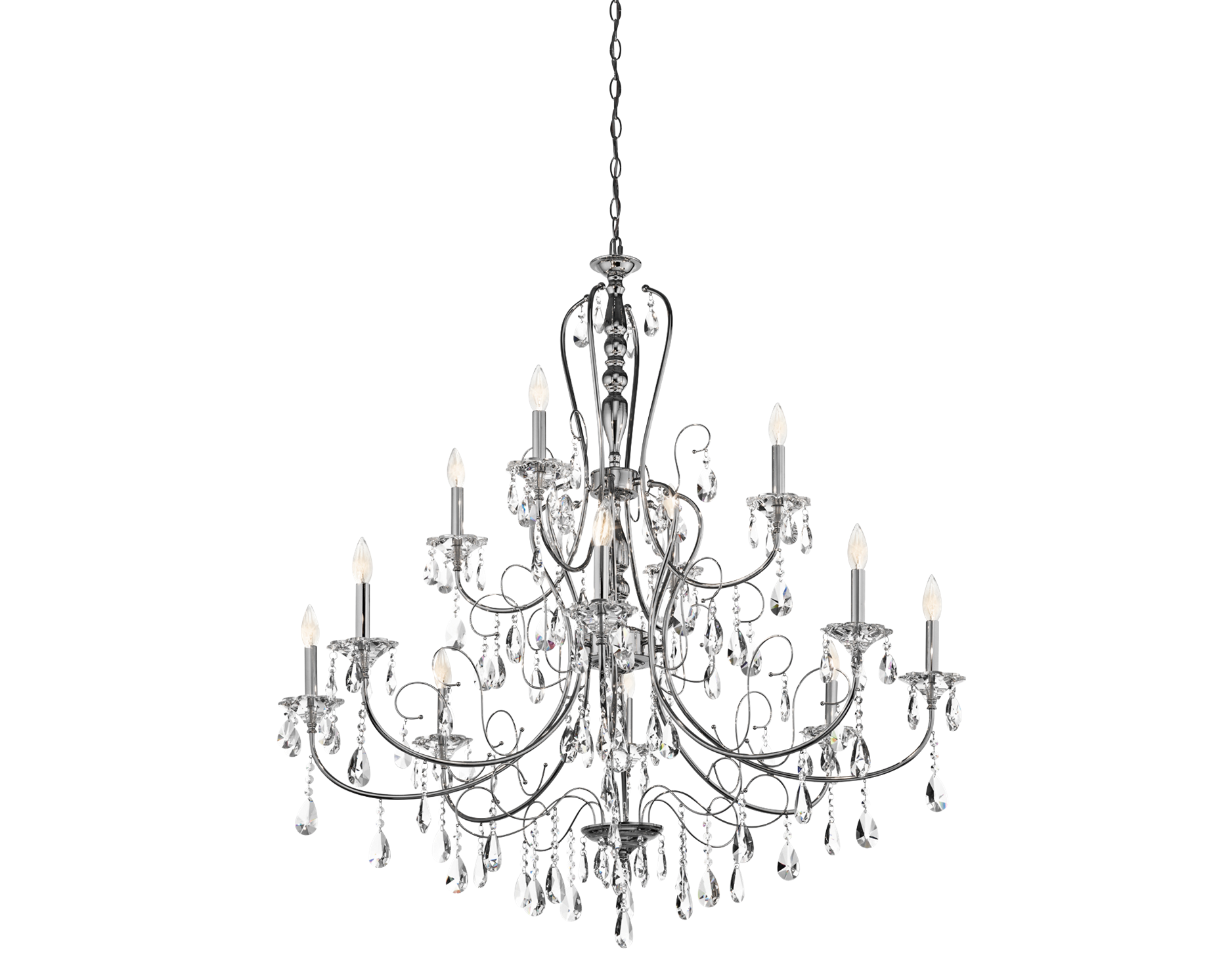 Jules collection 12 light chandelier in polished chrome dream home jules collection 12 light chandelier in polished chrome arubaitofo Choice Image