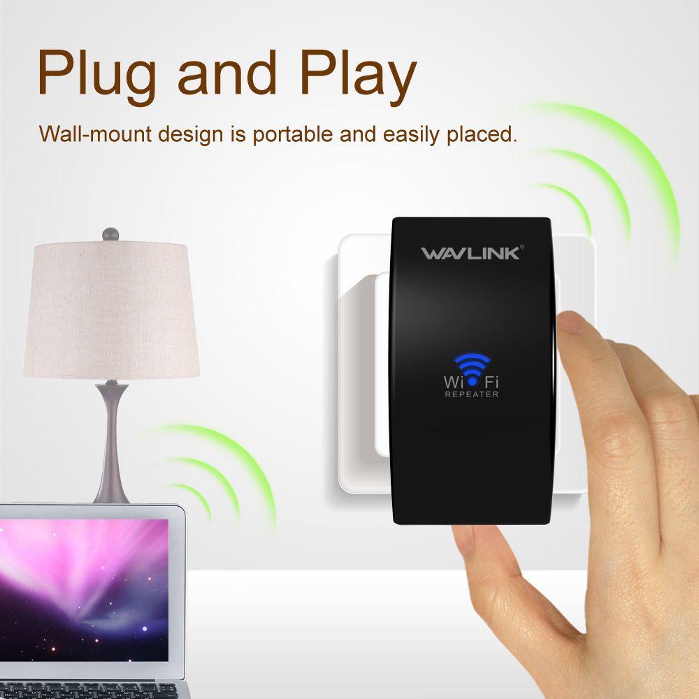 Wavlink Upgrade UltraMini N300 Draadloze Wifi repeater