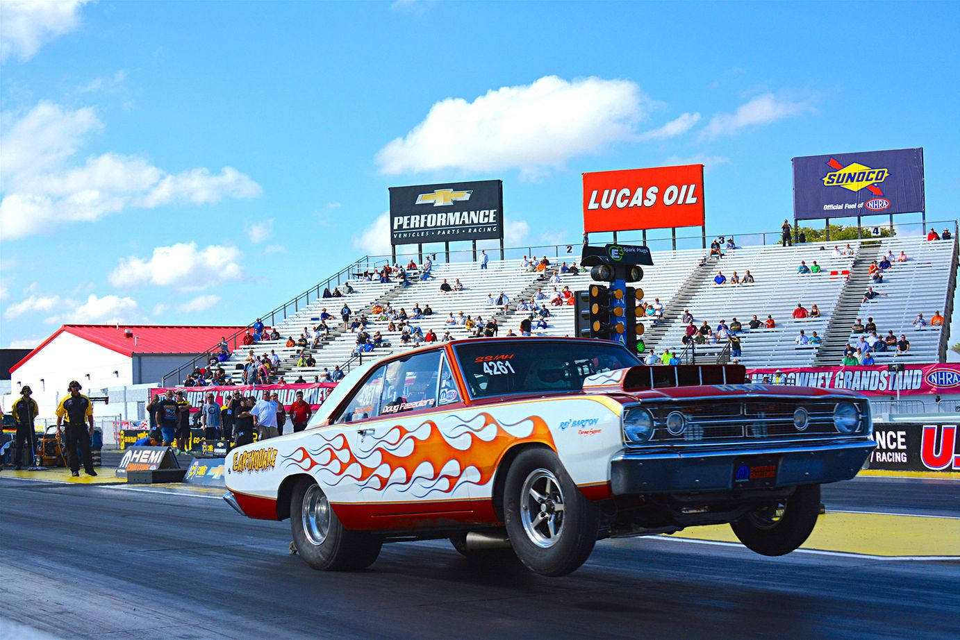 Super Stock Hemi Barracudas And Darts Have Been Making History At The Nhra For Drag Racing Mopar Monster Trucks