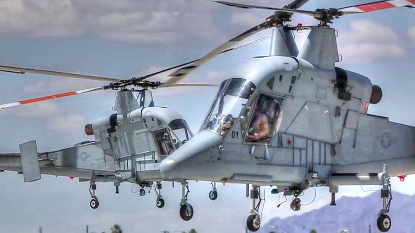 Elicottero Kaman K Max : Unique intermeshing rotor helicopter kaman k max landing