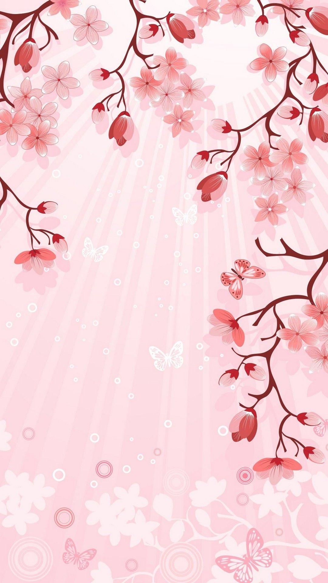 Pink Flower Wallpaper Animated Best Hd Wallpapers Pink Flowers Wallpaper Flowery Wallpaper Flower Wallpaper