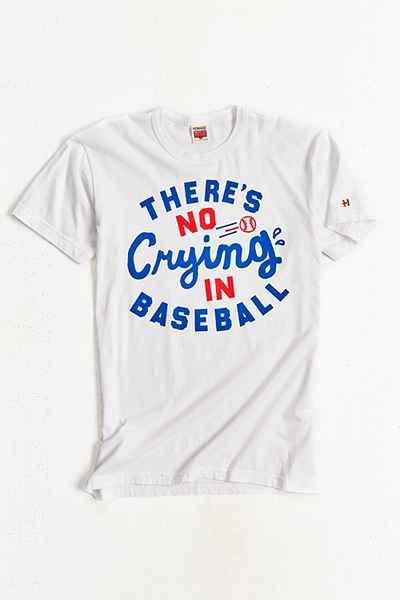 a6ffb60f1 HOMAGE No Crying In Baseball Tee | Outfit | Baseball tee shirts, No ...