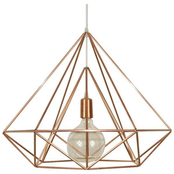 Himmeli light diamond cage pendant geometric copper matte chandelier himmeli light diamond cage pendant geometric copper matte chandelier 250 aloadofball Gallery