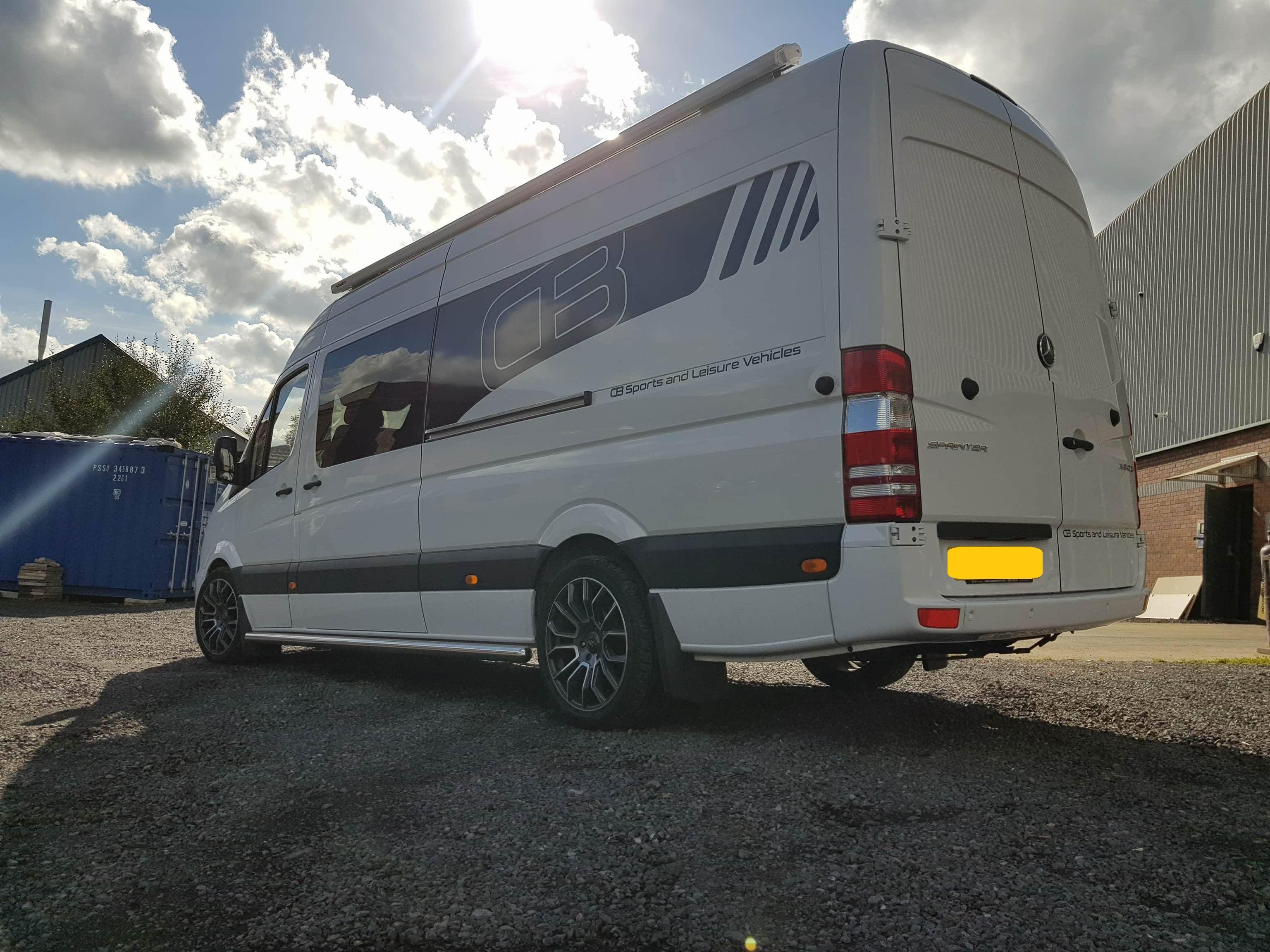 sale white van mercedes rv sprinter luxury limo for benz inventory