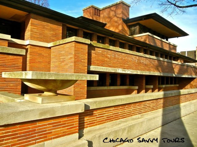 Frank Lloyd Wright Tour of Chicago - THE FRANK LLOYD WRIGHT TOUR