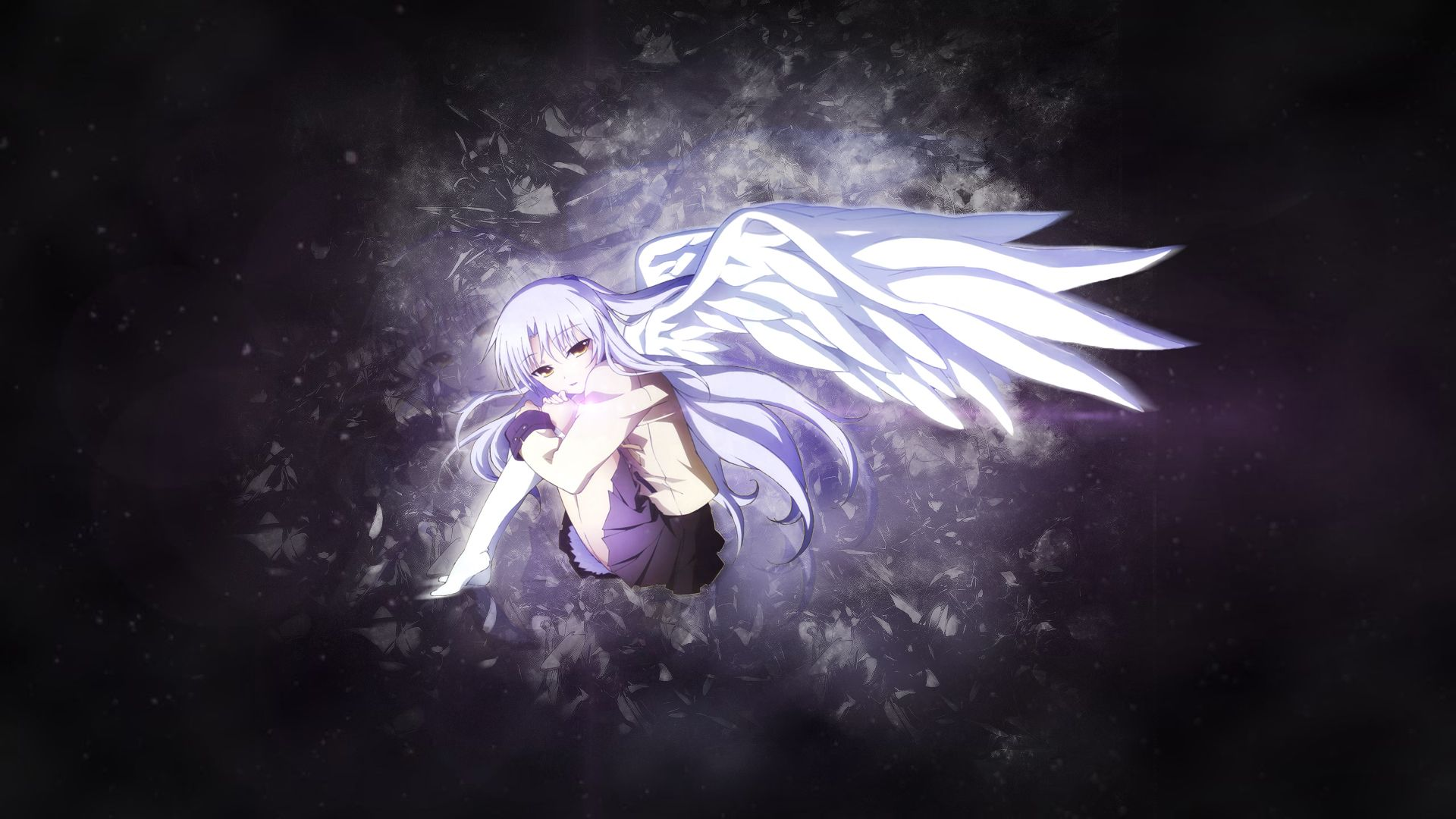 26 Of The Most Awful Anime Series Of All Time Angel Beats Anime Angel Beats Angel Illustration