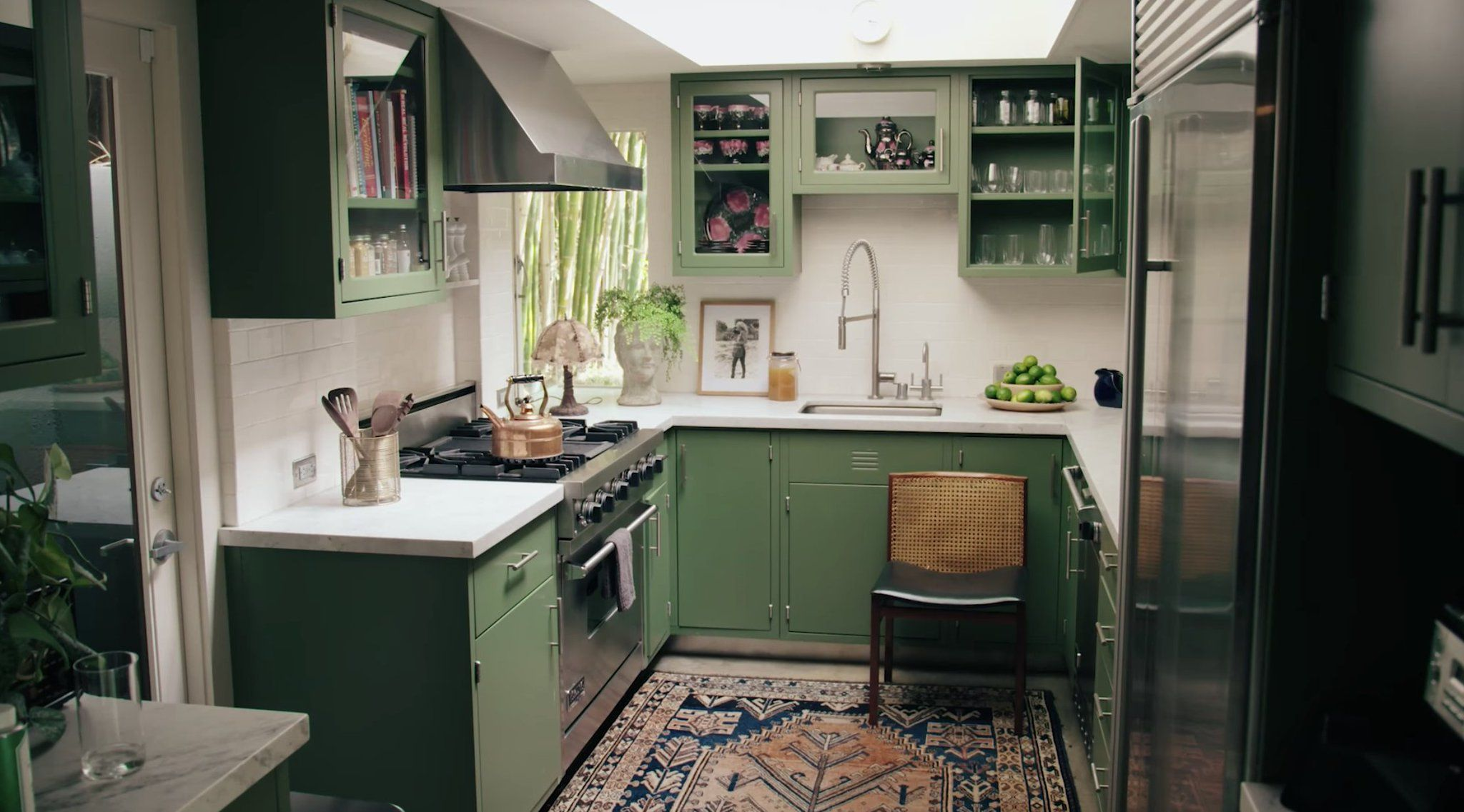 Hunter On In 2020 Johnson House Home Green Kitchen