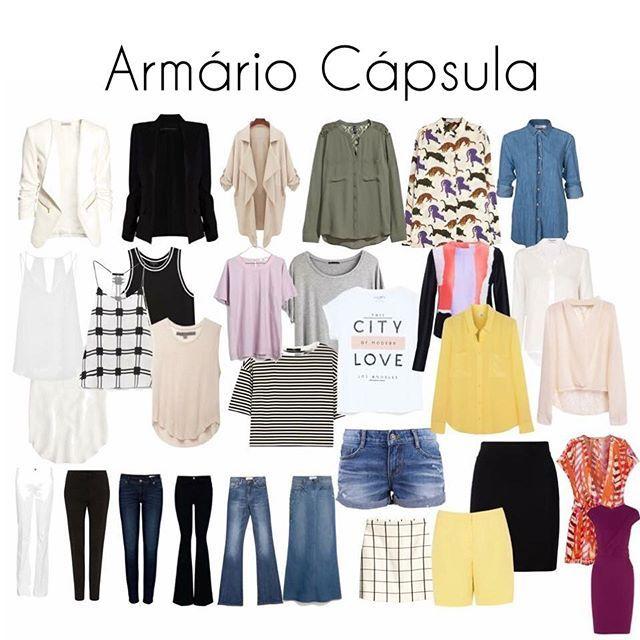 Armario De Parede Cozinha ~ Armário cápsula descubra o queé e aprenda a montar o seu Armário cápsula, Armário e Armario