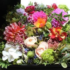 Box Flower Arrangement 04 ¥8,000