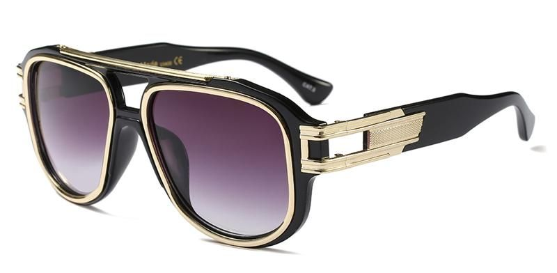 3ac9277a3828 Peekaboo half metal high quality sunglasses men women brand 2018 green blue  brown black square men shades for women uv400