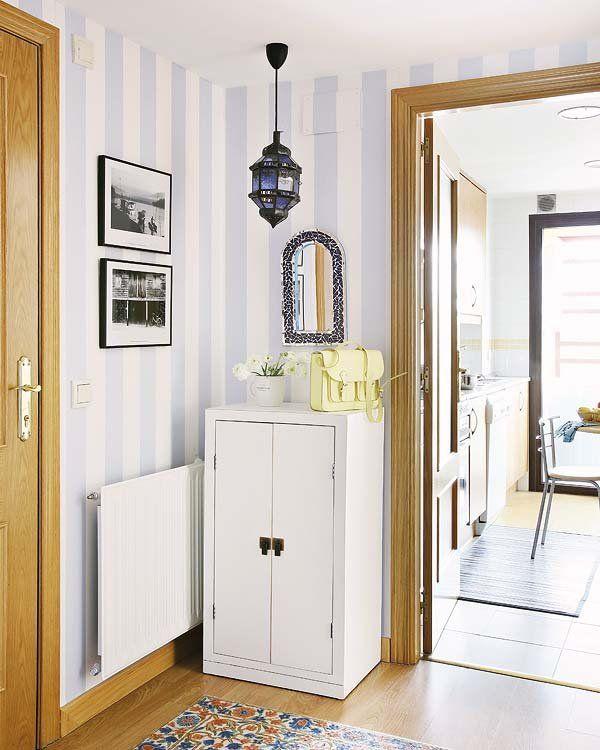 Como pintar un recibidor decoracin recibidores papel pintado en paredes with como pintar un - Pintar un recibidor ...