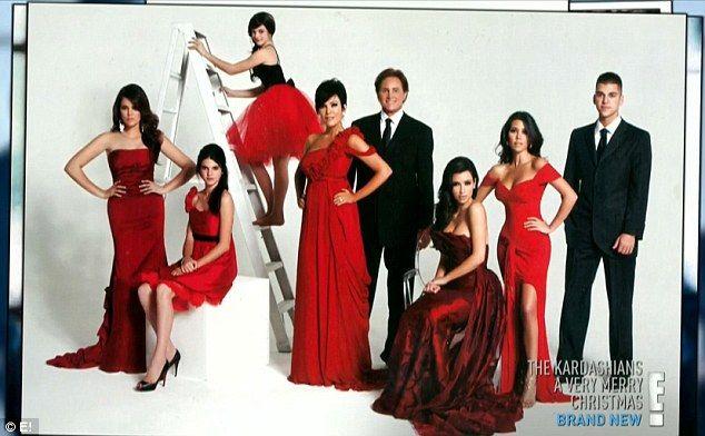 David La Chapelle Clashes With Kardashians Over Christmas Card Shoot Kardashian Christmas Kardashian Christmas Card Kardashian Family
