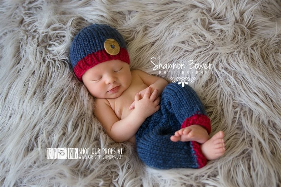 df9d95ed2ec2 ... ireland denim and ruby knit hat with matching pant set for baby boy  photo sessions.