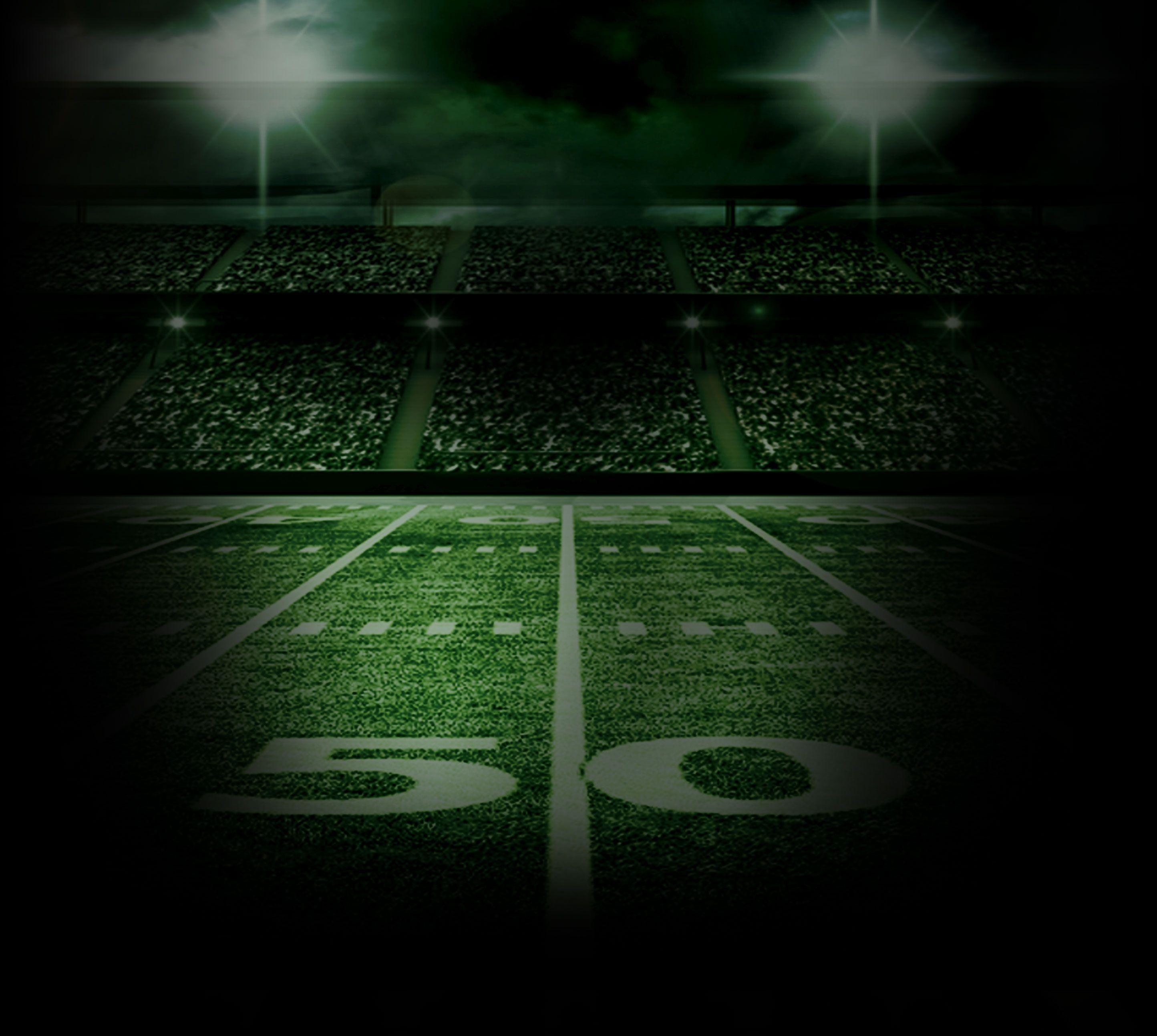 Background Dark Football Stadium