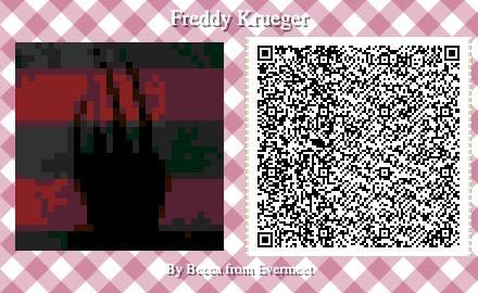 Freddy Krueger Glove In 2020 Animal Crossing Qr Animal Games