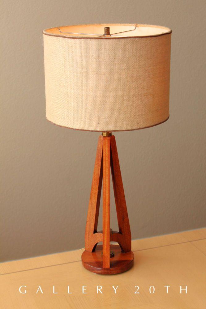 Sweet Mid Century Modern Rocket Hansen Table Lamp 50 S Danish