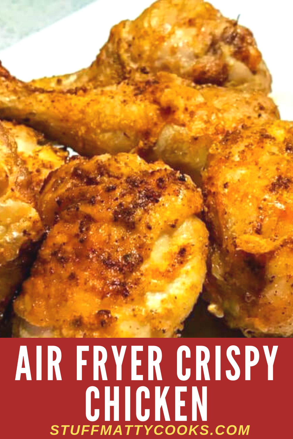 This Airfryer Crispy Chicken Recipe is crunchy and