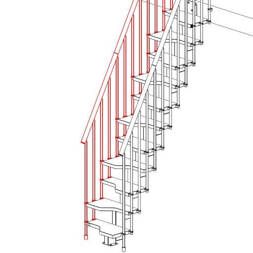 Compatta Space Saving Stairs (With