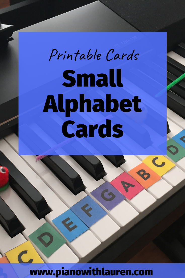 Small Alphabet Cards Pdf Download Piano With Lauren Music Games For Kids Piano Lessons For Kids Kids Piano [ 1102 x 735 Pixel ]
