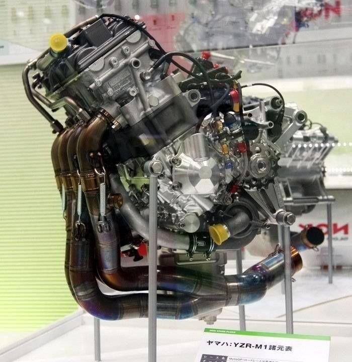Yamaha Yzr M Motogp Engine